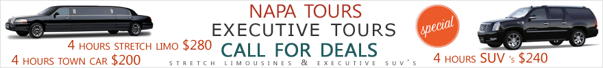 Napa Tour Deals